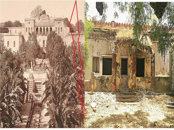 Who is responsible ? Historical Janana Mahal will be collapsed soon | दोष कोणाचा ? ऐतिहासिक जनाना महालाची होणार दगडमाती