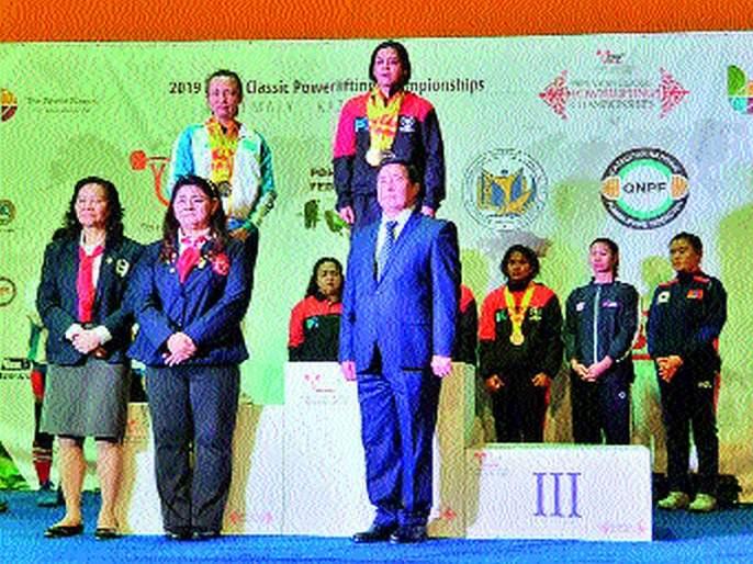 India's leadership axes towards Nita Mehta; Tricolor tricolor in Kazakhstan | नीता मेहताकडे भारताच्या नेतृत्त्वाची धुरा;कझाकिस्तान येथे फडकाविला तिरंगा