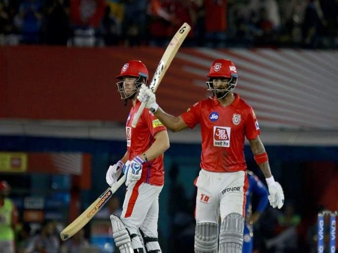 IPL 2019, KXIPvMI : किंग्स इलेव्हन पंजाबचा दणदणीत विजय   IPL 2019, KXIPvMI : किंग्स इलेव्हन पंजाबचा दणदणीत विजय
