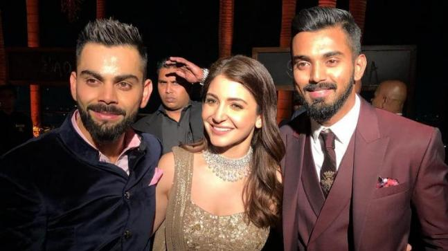 Like Lokesh Rahul, befriend Anushka Sharma and get a place in the Indian team   'लोकेश राहुलसारखी अनुष्का शर्माबरोबर मैत्री करा आणि भारतीय संघात स्थान मिळवा'