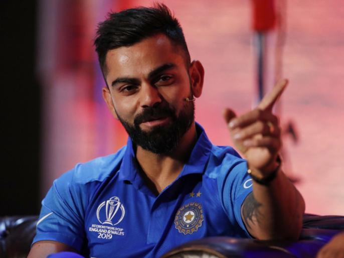 ICC World Cup 2019: before the World Cup Virat Kohli fan of Rashid Khan | आयसीसी वर्ल्डकप 2019 : वर्ल्डकपपूर्वीच कोहली झाला 'या' गोलंदाजाचा फॅन