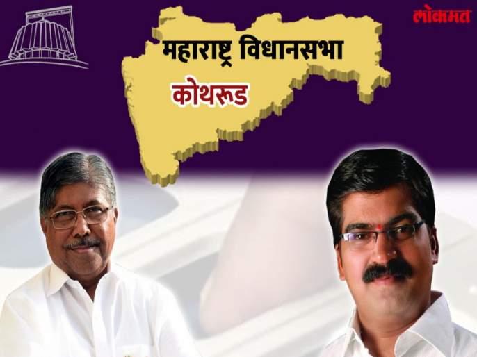 Maharashtra Election 2019 : Chandrakant Patil beat kishor shinde in the the kothrud | कोथरूड निवडणूक निकाल २०१९ : चंद्रकांत पाटलांनी भाजपाचा बहुप्रतिष्ठित ''बालेकिल्ला '' राखला