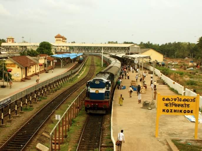 117 gelatin sticks 350 detonators have been seized from passenger train at kozhikode railway station in kerala | केरळमध्ये पॅसेंजर ट्रेनमध्ये स्फोटकं सापडली, एका महिलेला अटक!