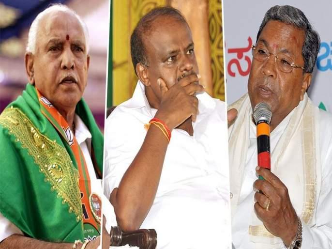 Karnataka election results: Congress leads in front of BJP, BJP gets 'hooked' | Karnataka Election Result 2018: काँग्रेस आघाडीवर तर भाजपकडूनही 'काँटे की टक्कर'