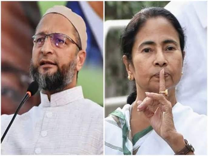 MIM BJP 'B' team; Asaduddin Owaisi says on Mamata Banerjee's charge | एमआयएम भाजपाची 'बी' टीम; ममता बॅनर्जींच्या आरोपवर असदुद्दीन ओवैसी म्हणतात...