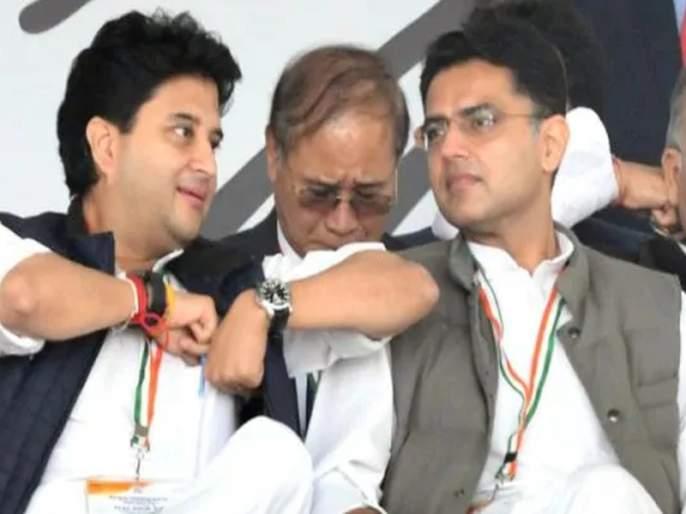 BJP Leader Jyotiraditya Scindia says no place for ability in the Congress party   सचिन पायलट यांच्या हकालपट्टीनंतर ज्योतिरादित्य शिंदेंनी दिली पहिली प्रतिक्रिया; म्हणाले...