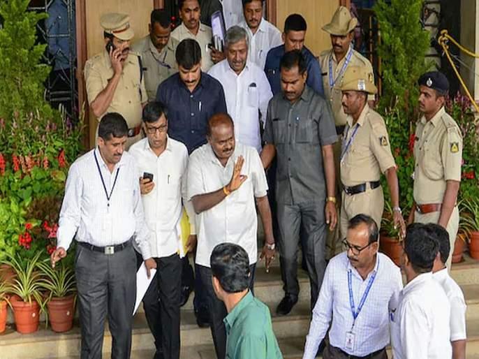 Missing Congress MLA admitted to Mumbai hospital, says can't attend session due to heart pain   कुमारस्वामींवर आणखी एक संकट, गायब आमदार मुंबईतील रुग्णालयात