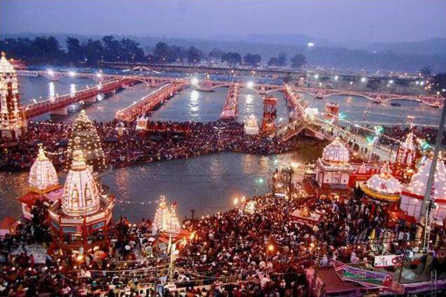 Announcement of the end of Haridwar Kumbh from Niranjani Akhada   निरंजनी आखाड्याकडून हरिद्वार कुंभ समाप्तीची घोषणा