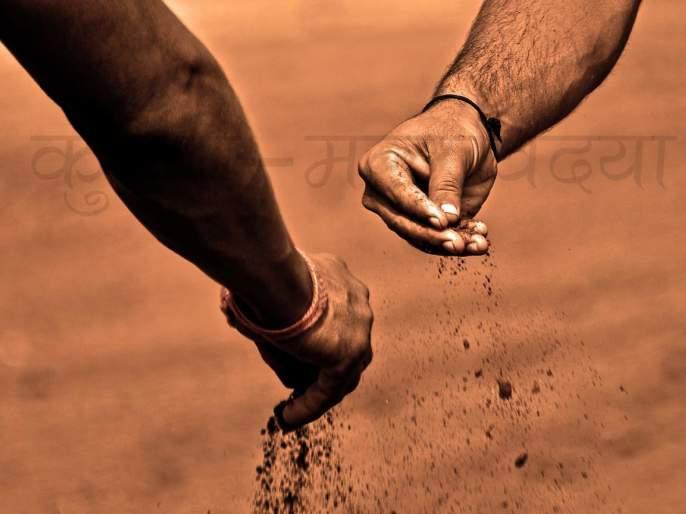 Govind Nare was the best wrestler in Kochra   कोचरा येथील गोविंद नरे ठरला उत्कृष्ट कुस्तीगीर