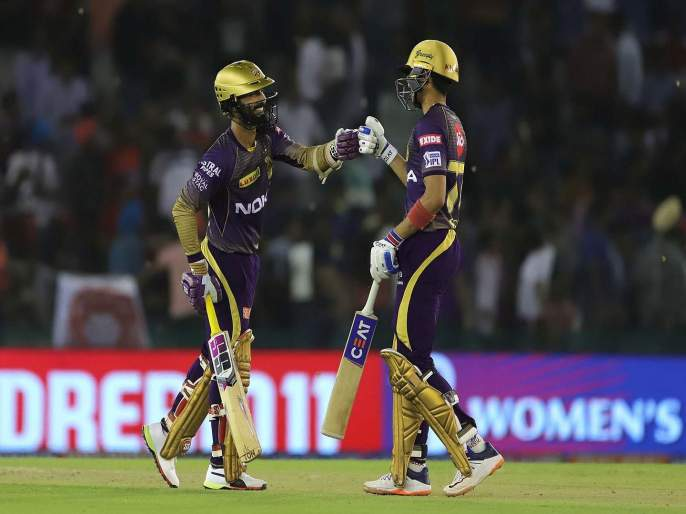 IPL 2019 KXIP vs KKR live update, Kings XI Punjab VS Kolkata Knight Riders Match Score, Highlight, news in Marathi | IPL 2019 KXIP vs KKR : कोलकाताचा दणदणीत विजय, प्ले ऑफच्या शर्यतीत कायम