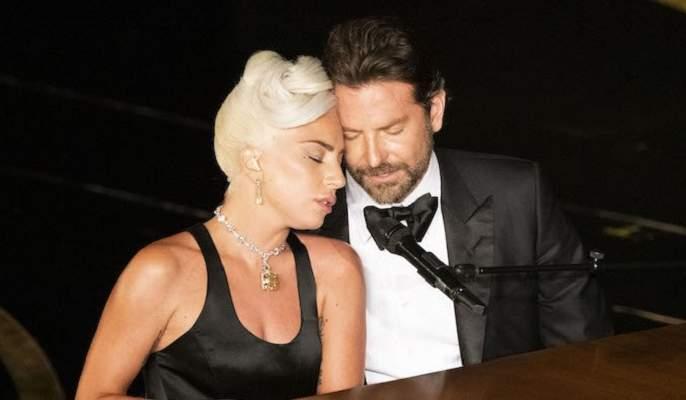 Oscar 2019: lady gaga bradley cooper oscar performance   Oscar 2019 : लेडी गागा आणि ब्रॅडली कूपरच्या रोमॅन्टिक केमिस्ट्रीची अशी रंगली चर्चा!!