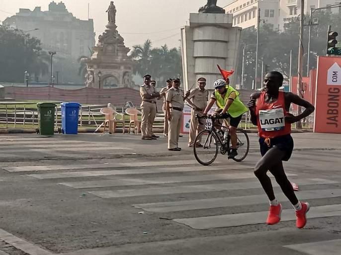 Mumbai Marathon 2019: Kenya's Cosmos Lagat win Mumbai Marathon title | Mumbai Marathon 2019 : केनियाच्या कॉसमस लॅगटने पटकावले मुंबई मॅरेथॉनचे विजेतेपद