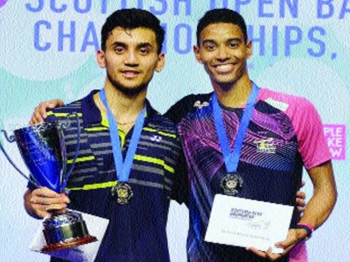 lakshya dominated at Scottish Open, winning fourth title this season | लक्ष्यचा स्कॉटिश ओपनमध्ये दबदबा, यंदाच्या मोसमातील चौथे अजिंक्यपद पटकावले
