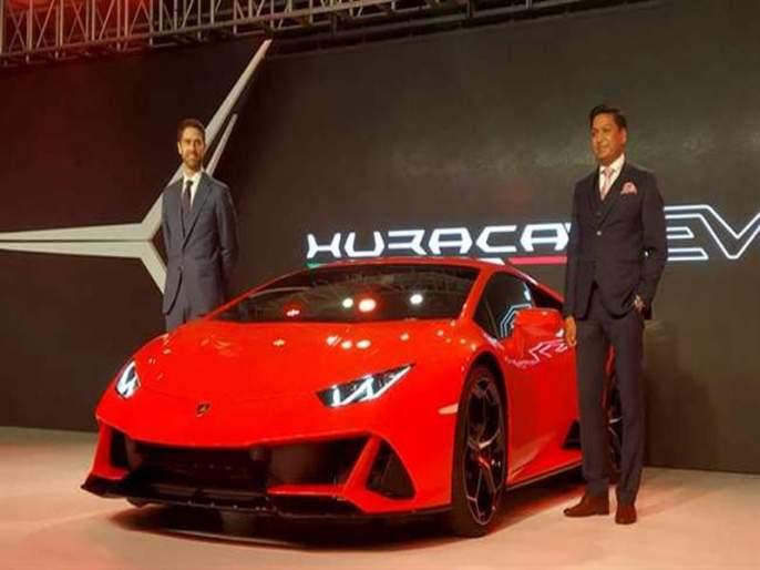 Lamborghini car launched 100 km speed in just 2.9 seconds ...! | अवघ्या 2.9 सेकंदांत 100 चा भन्नाट वेग पकडणारी कार आली...!