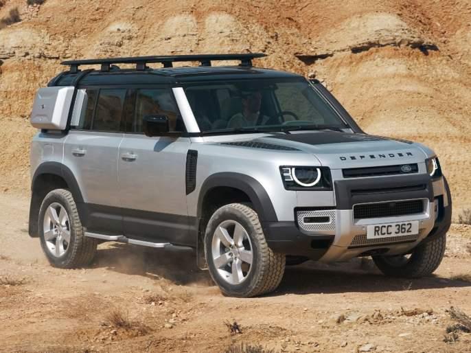 Land Rover Defender launched in India; Know the price and features | लँड रोव्हर डिफेन्डर भारतात लाँच; जाणून घ्या किंमत आणि फिचर्स