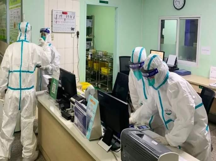 Coronavirus: In china, patients who have been recovering from corona disease have been exposed to the corona virus mac | Coronavirus: कोरोना परतला! वुहानमधील १०% रुग्णांना पुन्हा लागण; चीनची चिंता वाढली