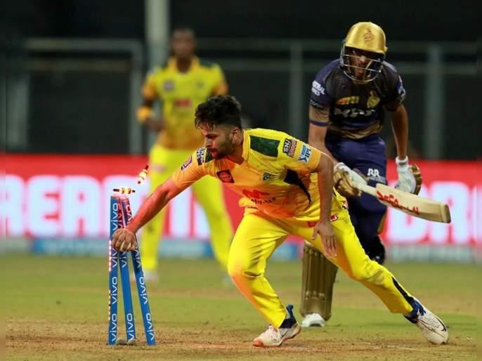 IPL 2021, CSK vs KKR T20 Match Highlight : CSK moves to top of the points table, The fightback of KKR will be talked forever | IPL 2021, CSK vs KKR T20 Match Highlight : वानखेडेवर क्रिकेटचा थरार रंगला, आंद्रे रसेलच्या विकेटनं सामनाच फिरला...
