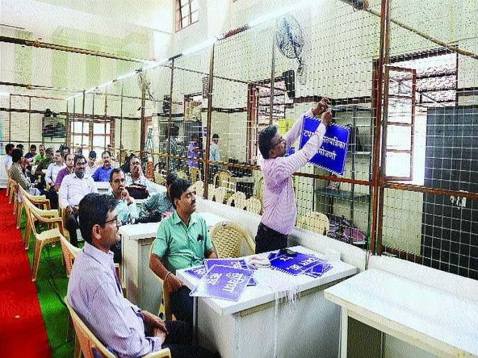 Mahrashtra Election 2019: high security at all polling stations in mumbai | Maharashtra Election 2019: सर्व मतमोजणी केंद्रांवर कडेकोट सुरक्षा