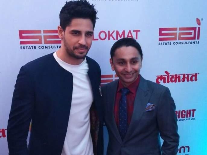 Siddharth Malhotra wishes Lokmat | लोकमत दिल्लीत पण जातय ही मराठी पेपरसाठी मोठी बाब - सिद्धार्थ मल्होत्रा