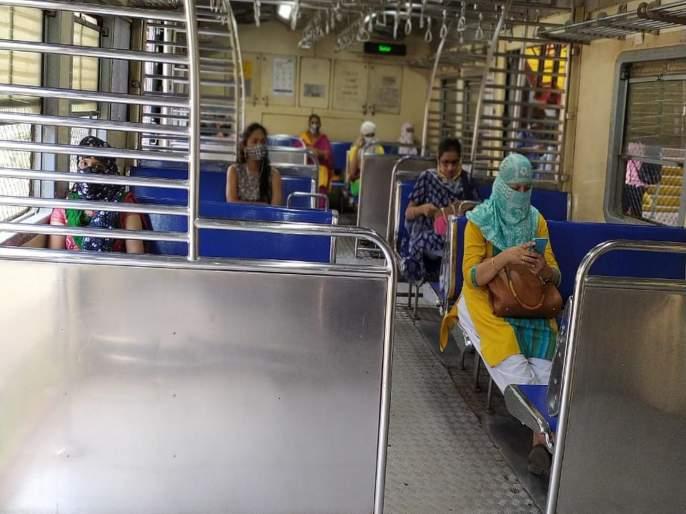 low response to Ladies Special on Kalyan Mumbai Marg on the first day   पहिल्या दिवशी कल्याण मुंबई मार्गावरील लेडीज स्पेशलला अल्प प्रतिसाद