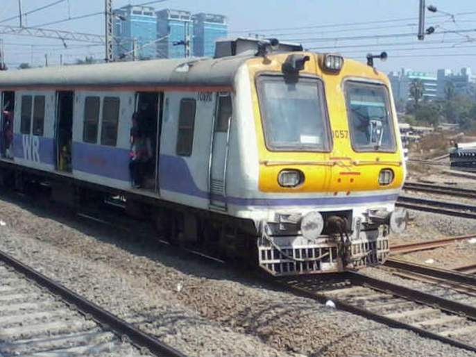 Success in setting up an iron bridge on the Diva-Panvel railway crossing | दिवा-पनवेल रेल्वे क्रॉसिंगवर लोखंडी पूल बसविण्यात यश