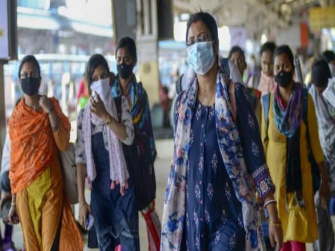 Maharashtra Lockdown: Citizens rush to market for shopping, fear of lockdown | Maharashtra Lockdown : खरेदीसाठी बाजारपेठांत नागरिकांची झुंबड, लॉकडाऊनची धास्ती, साठा करण्याकडे कल
