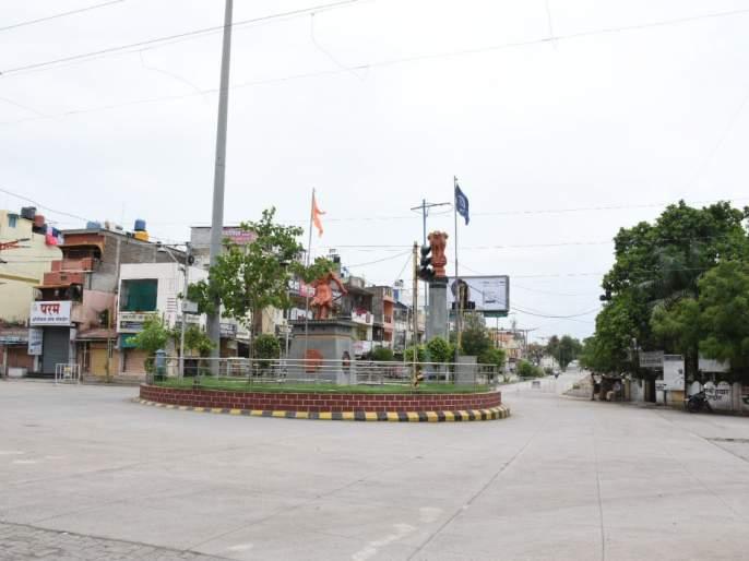 Lockdown In Aurangabad : Total curfew in city, no mans on roads and colonies | Lockdown In Aurangabad : शहरात शुकशुकाट : रस्ते निर्मनुष्य; कॉलनीत सामसूम