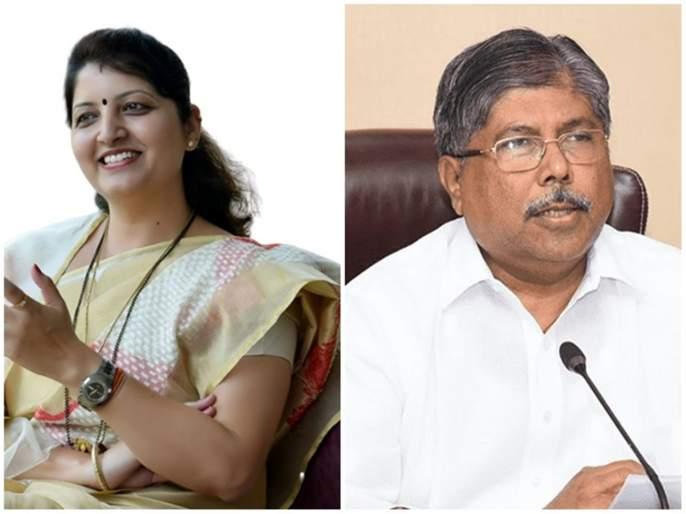 Rupali Chakankar criticizes Chandrakant Patil | पवारांवर पीएचडी करणे तुमच्याकडून होणार नाही ; चाकणकरांचा चंद्रकांत पाटलांना टोला