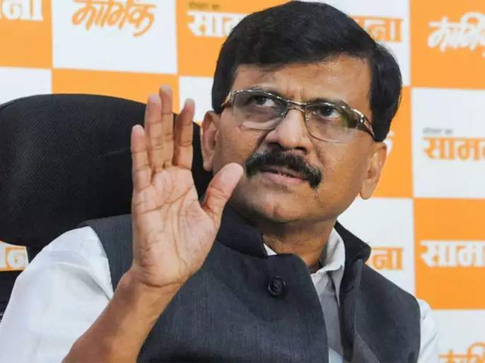 Sanjay Raut criticizes BJP from the saamana | बाप रे! संपूर्ण दिल्ली देशद्रोही; सामनातून भाजपवर टीकास्त्र