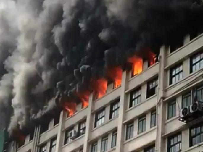 The GST office fire should be inquired through SIT Demand for Congress leaders | जीएसटी भवनची आग लागली की लावली?; काँग्रेस नेत्याकडून एसआयटीमार्फत चौकशीची मागणी