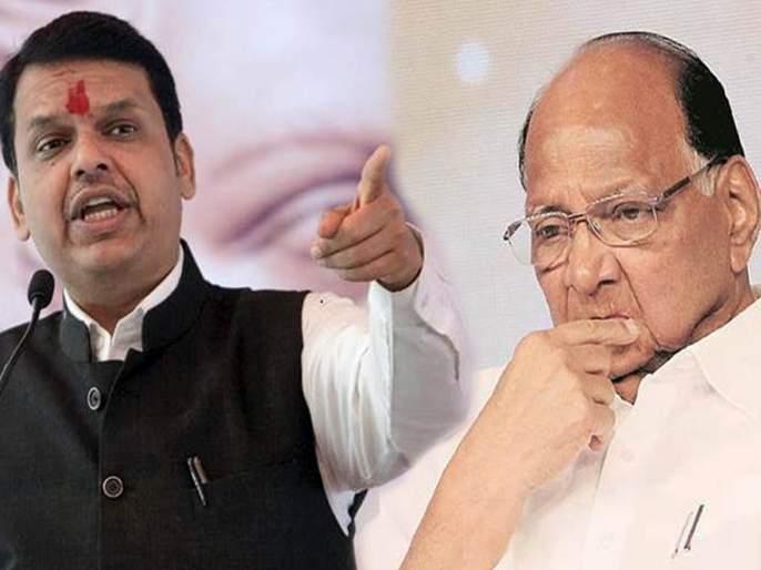 Devendra Fadnavis criticized sharad pawar ram temple issue | अल्पसंख्याक मतांसाठी देशात स्पर्धा सुरू आहे; फडणवीसांची शरद पवारांवर टीका