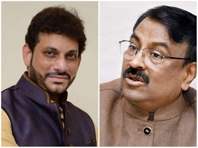 Sudhir Mungantiwar criticized Varis Pathan over controversial statements   वारिस पठाण औरंगजेबाचे 'वारिस': सुधीर मुनगंटीवार