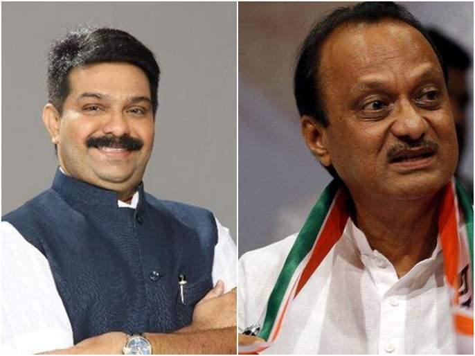 BJP leader Prasad Lad attacked Ajit Pawar   कदाचित अजित पवारांना पुन्हा आमच्याबरोबर यायचं : प्रसाद लाड