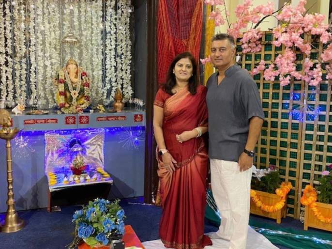 Ganeshotsav of 'Maharashtra Mandal, London' celebrated with fanfare following all the rules   'महाराष्ट्रमंडळ, लंडन'चा गणेशोत्सव सर्व नियम पाळून धूमधडाक्यात साजरा