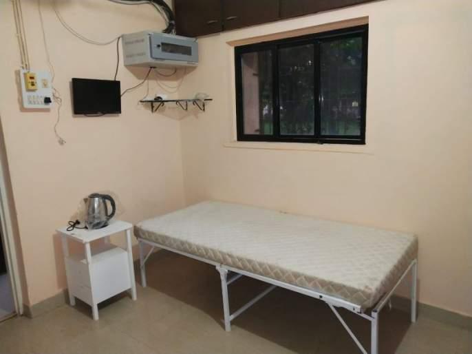 Shri Samarth Federation at New Dindoshi Mhada transforms the Society's offices into a quarantine center   न्यू दिंडोशी म्हाडा येथील श्री समर्थ फेडरेशनने सोसायटीच्या कार्यालयांचे रूपांतर क्वारंटाईन सेंटरमध्ये