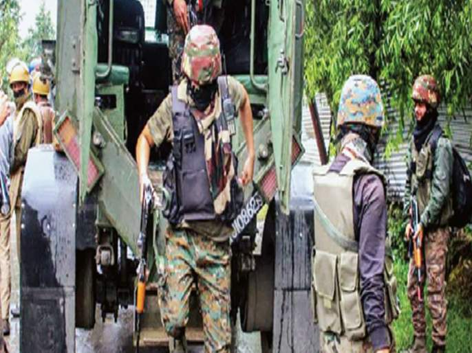 Kashmir police provoke conspiracy to attack Republic Day; Five terrorists arrested | प्रजासत्ताकदिनी हल्ला करण्याचा कट काश्मीर पोलिसांनी उधळला;पाच दहशतवाद्यांना अटक