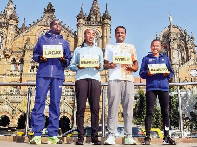 'Race' to be held among African runners; Mumbai ready for the marathon | आफ्रिकन धावपटूंमध्ये रंगणार 'शर्यत';मॅरेथॉनसाठी मुंबईकर सज्ज