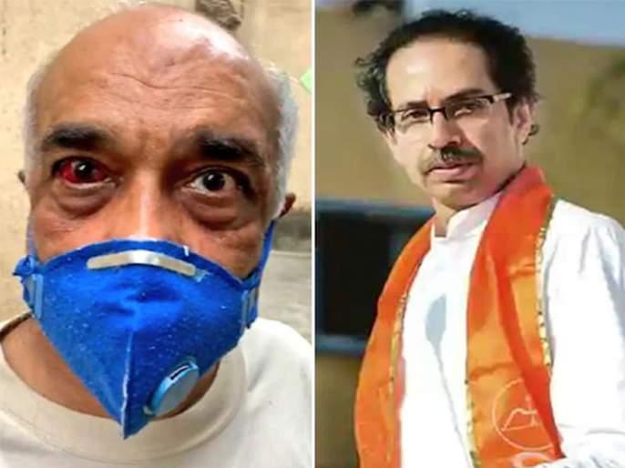 Ex Naval Officer Madan Sharma Who Was Attacked By Shivsena Workers Demands Apology Or Resignation From cm Uddhav Thackerey   कायदा-सुव्यवस्था राखता येत नसेल तर ठाकरेंनी राजीनामा द्या; निवृत्त नौदल अधिकाऱ्याची मागणी
