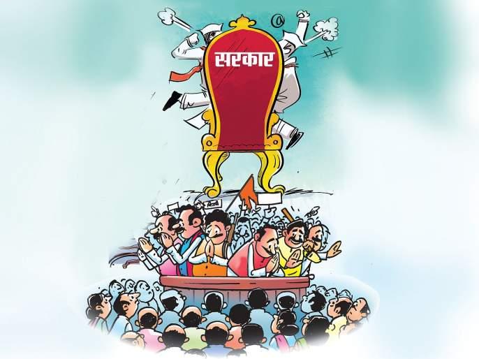 maharashtra election 2019 peoples reaction on bjp shiv sena ncp congress parties politics | महाराष्ट्र निवडणूक 2019: राजकीय पक्षांकडून जनमतावर बोळा