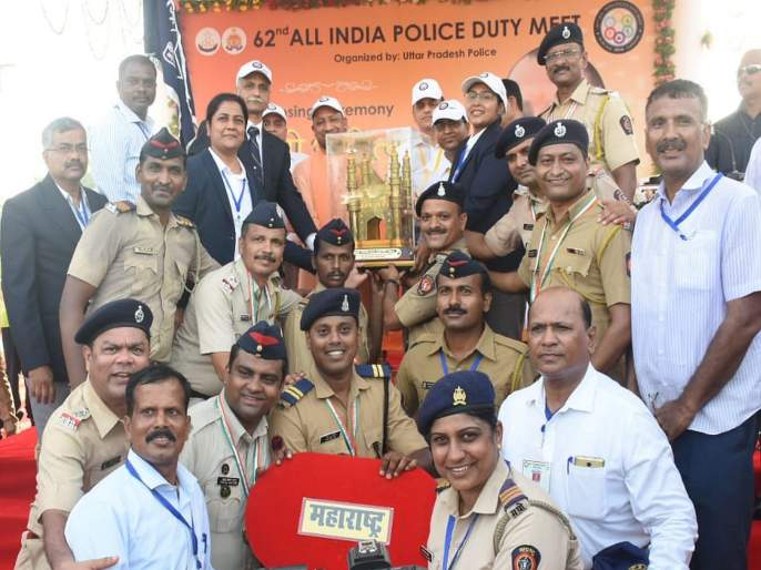 Maharashtra Police Squad first in Indian Police Duty | महाराष्ट्र पोलिसांचा डंका; भारतीय पोलिस कर्तव्य मेळाव्यात देशात अव्वल