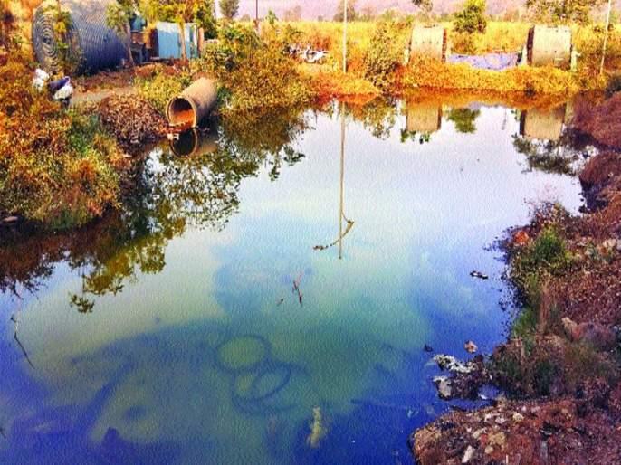 water leakage from Mahad MIDC | महाड एमआयडीसीत जलवाहिनीला गळती
