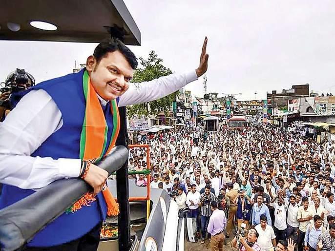 BJP's Mahajanadedh Yatra starts once again despite flood in Maharashtra | पूरस्थिती असली तरी पुन्हा भाजपची महाजनादेश यात्रा