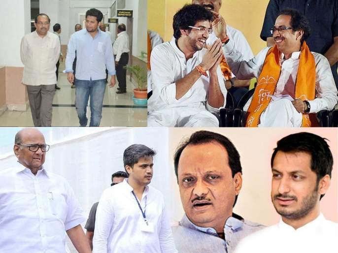 Lok Sabha Election 2019: Analysis of political developments in maharashtra | 'पॉलिटिकल बिझनेस'साठी काय पण, बापांची मुलांसाठी पळापळ