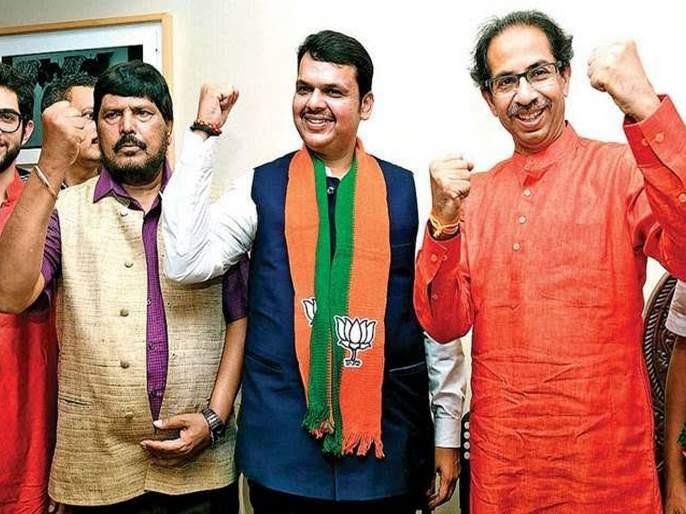 Maharashtra Government: BJP-Shiv Sena opposition to Eighth proposal | Maharashtra Government : आठवलेंच्या प्रस्तावाला भाजप-शिवसेनेचा विरोध