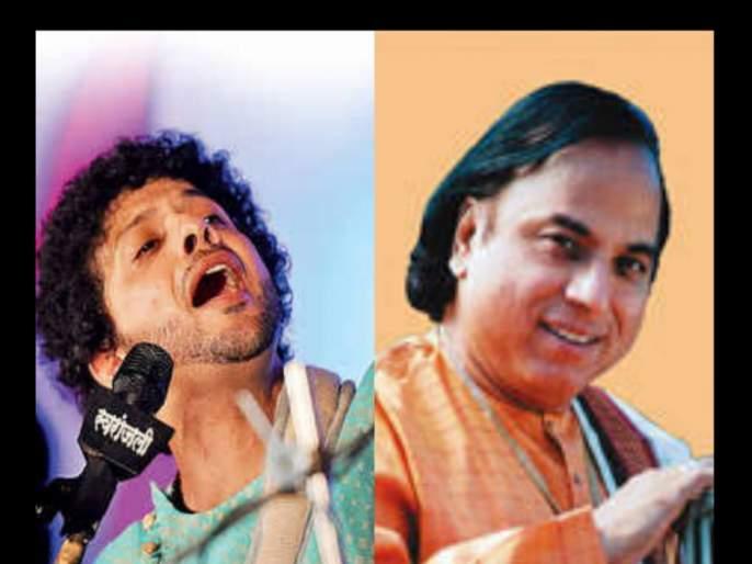 Suresh Talwalkar criticized Mahesh Kale about Katyar Kaljat Ghusali   'कट्यार'मध्ये चार गाणी गाऊन महेश काळे झाले मोठे