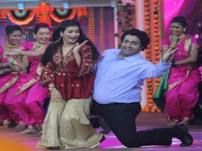 Mazhya Navryachi Bayko Actors Dance In Zee Marathi Awards