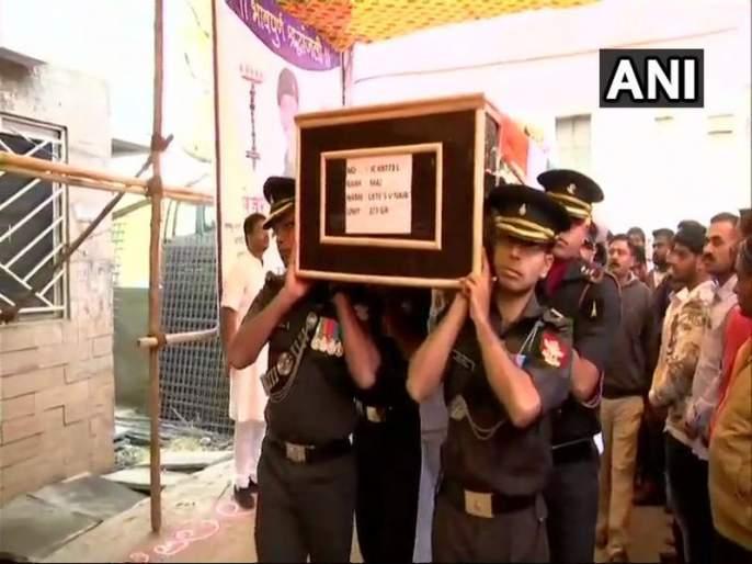 The body of Shaheed Major Shashidharan Nayar in Pune   शहीद मेजर शशीधरन नायर यांचे पार्थिव पुण्यात