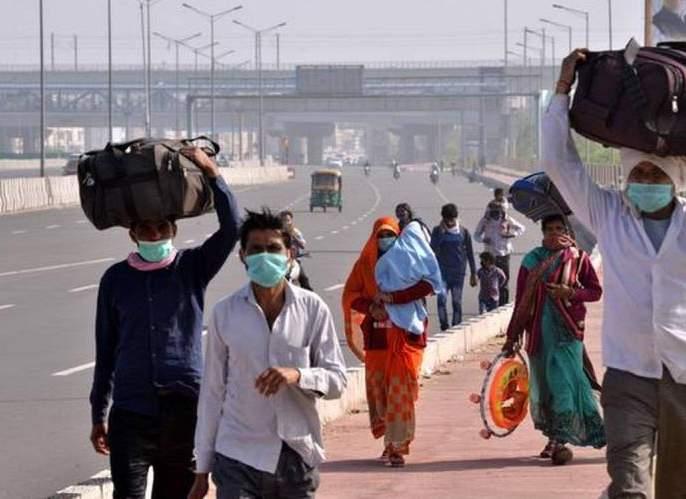 Maharashtra Lockdown: Heal your village; Immigrants crowded at railway stations again, on their way back due to strict restrictions | Maharashtra Lockdown : गड्या आपुला गाव बरा; स्थलांतरितांची रेल्वे स्थानकांवर पुन्हा माेठ्या प्रमाणावर गर्दी, कडक निर्बंधांमुळे परतीच्या मार्गावर