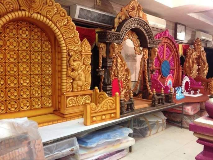 Attractions of Bahubali, Horse Sun Makhar   बाहुबली, हॉर्स सन मखरांचे आकर्षण