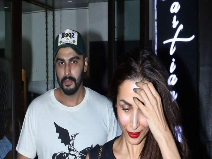 Malaika worried about seeing Arjun Kapoor's photo | अर्जुन कपूरचा फोटो पाहून मलायका चिंतीत; कमेंट बॉक्समध्ये अर्जुनने दिले 'हे' उत्तर!